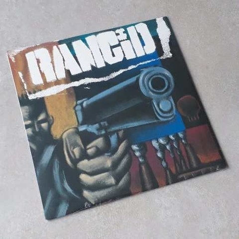 Vinil Lp Rancid 1993 1º Album Lacrado
