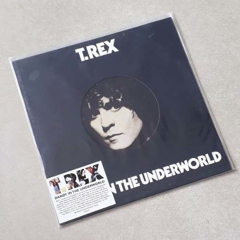 Vinil Lp T-rex Dandy In The Underworld 180g Novo