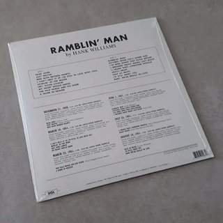 Vinil Lp Hank Williams Ramblin Man 180g Lacrado - comprar online