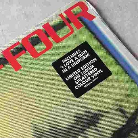 Vinil Lp Gang Of Four Songs Of The Free Colorido Lacrado