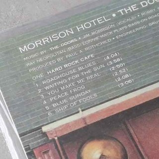 Imagem do Vinil Lp The Doors Morrison Hotel Rhino 180g Lacrado