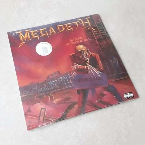 Vinil Lp Megadeth Peace Sells But Who's Buying Lacrado