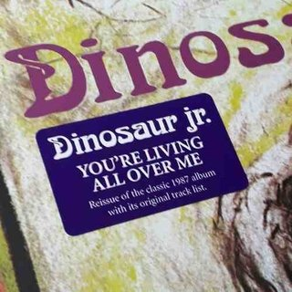 Vinil Lp Dinosaur Jr You Re Living All Over Me Remasterizado - Psicoterapia Vinil
