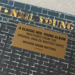 Vinil Lp Neil Young After The Gold Rush Lacrado na internet
