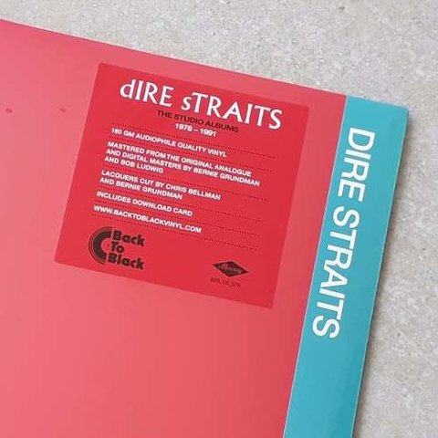 Vinil Lp Dire Straits Making Movies Remast. 180g Lacrado