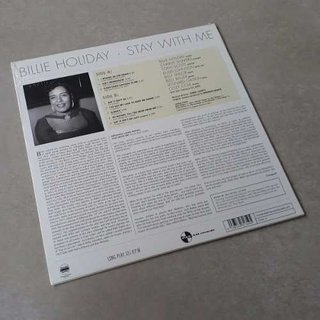 Vinil Lp Billie Holiday Stay With Me Stereo Lacrado - comprar online