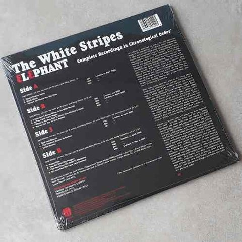 Vinil Lp The White Stripes Elephant 2-lps 180g Lacrado