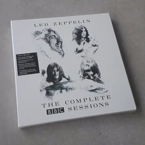Vinil Lp Led Zeppelin Complete Bbc Sessions 5-lps Lacrado
