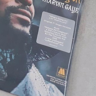 Vinil Lp Marvin Gaye What's Going On Compacto Duplo 7pol - Psicoterapia Vinil