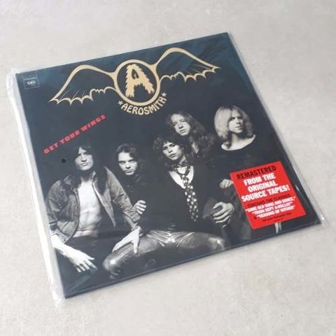 Vinil Lp Aerosmith Get Your Wings Remasterizado Lacrado