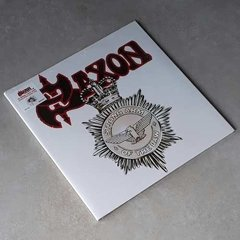 Vinil Lp Saxon Strong Arm Of The Law Colorido Lacrado