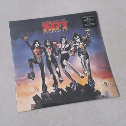 Vinil Lp Kiss Destroyer 180g Lacrado