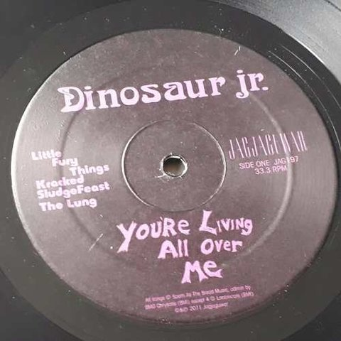 Vinil Lp Dinosaur Jr You Re Living All Over Me Remasterizado