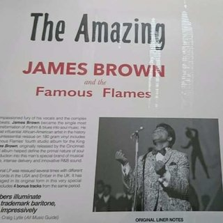 Vinil Lp James Brown The Amazing James Brown 180g Lacrado - Psicoterapia Vinil