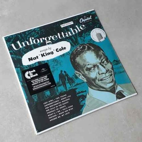 Vinil Lp Nat King Cole Unforgettable 180g Lacrado