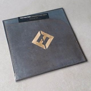 Vinil Lp Foo Fighters Concrete And Gold 2-lps Lacrado