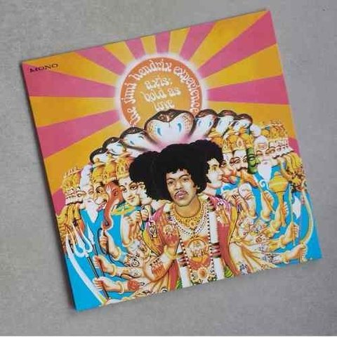 Vinil Lp Jimi Hendrix Axis Bold As Love 200g Mono Lacrado
