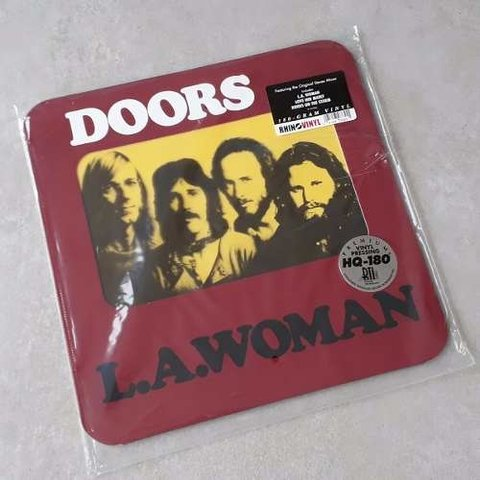 Vinil Lp The Doors La Woman 180g Rhino Lacrado