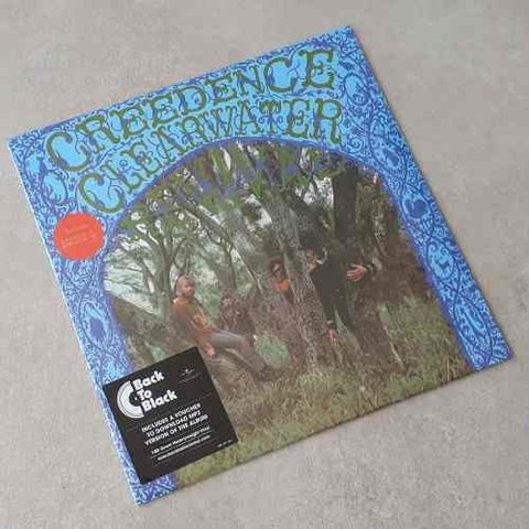 Vinil Lp Creedence Clearwater Revival 1º Album 1968 Lacrado