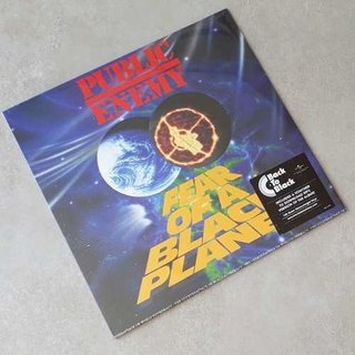 Vinil Lp Public Enemy Fear Of A Black Planet Lacrado