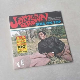 Vinil Lp James Brown Soul On Top 180g Lacrado