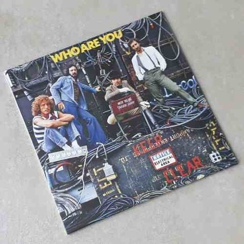Vinil Lp The Who Who Are You Lacrado