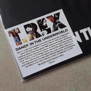 Vinil Lp T-rex Dandy In The Underworld 180g Novo na internet