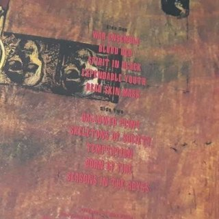 Vinil Lp Slayer Seasons In The Abyss Remasterizado Lacrado - Psicoterapia Vinil