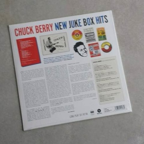 Vinil Lp Chuck Berry New Juke Box Hits 180g Lacrado