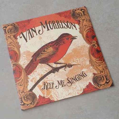 Vinil Lp Van Morrison Keep Me Singing Gatefold Lacrado