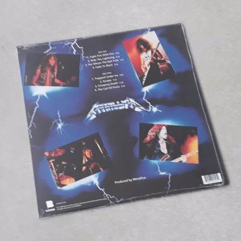 Vinil Lp Metallica Ride The Lightning Remasterizado Lacrado