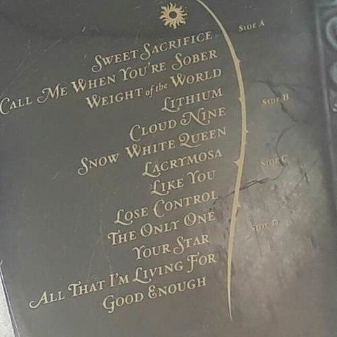 Vinil Lp Evanescence The Open Door 2-lps 180g Lacrado