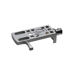 "Audio Technica AT-HS10SV Prata Headshell 1/2"" Mount Original"