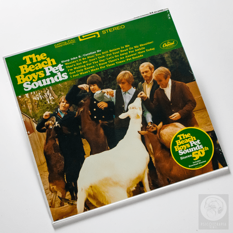 Vinil Lp Beach Boys Pet Sounds Stereo 180g Lacrado