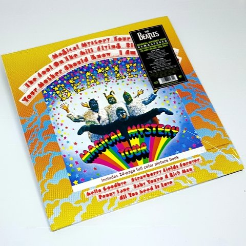Vinil Lp Beatles Magical Mystery Tour Stereo 180g Lacrado