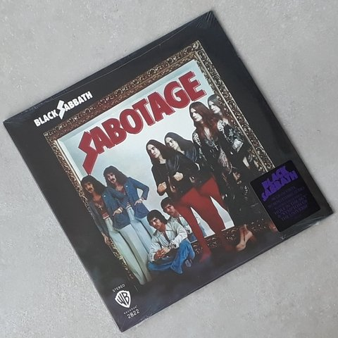 Vinil Lp Black Sabbath Sabotage Warner Remast. Lacrado