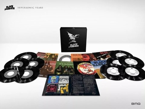 Vinil Lp Black Sabbath Supersonic Years Box Set Lacrado