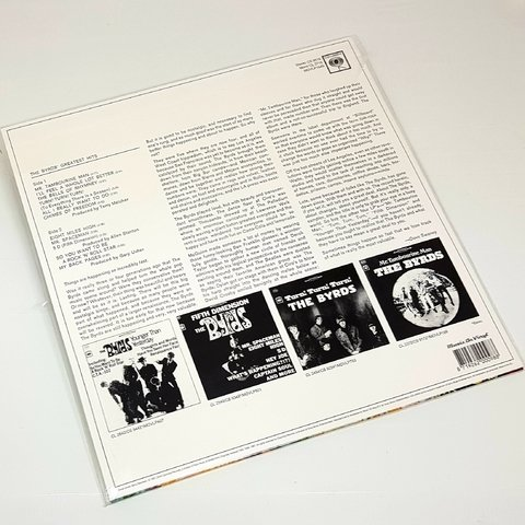 Vinil Lp The Byrds' Greatest Hits 180g Lacrado