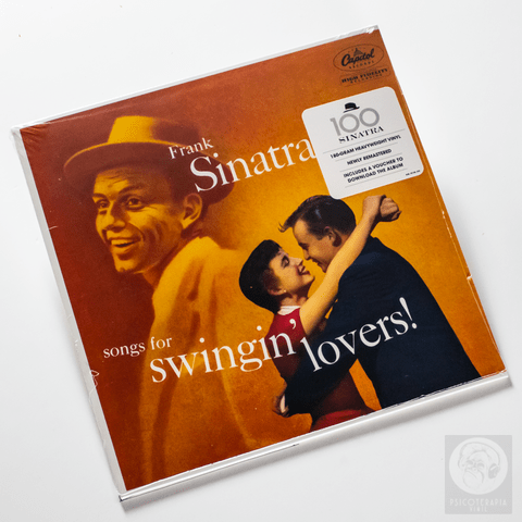 Vinil LP Frank Sinatra Songs For Swingin Lovers 180g Lacrado - comprar online