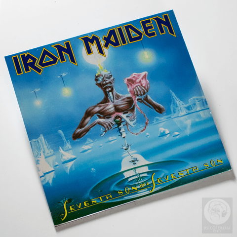 Vinil Lp Iron Maiden Seventh Son Of A Seventh Son Lacrado
