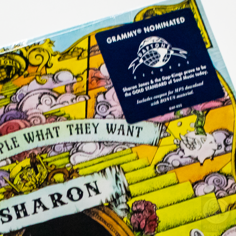 Vinil LP Sharon Jones Give People What They Want Lacrado