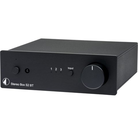 Project Amplificador Stereo Box S2 + Bluetooth Preto