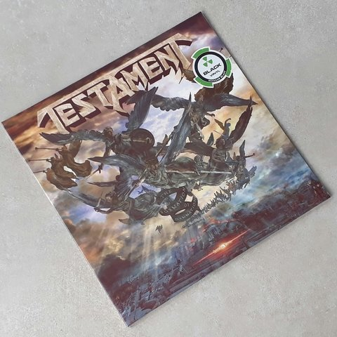 Vinil Lp Testament Formation Of Damnation Lacrado - comprar online