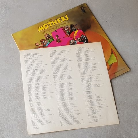 Vinil Lp The Mothers ‎Just Another Band From L.A. Japão Encarte  VG+/VG+