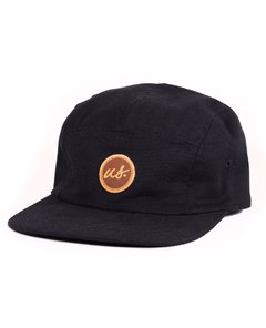 Boné Five Panel Us preto