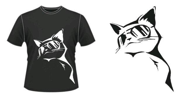 a2490d6a4f21a Camiseta Gato de Óculos  Camiseta Gato de Óculos - comprar online