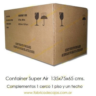 Container Super Air 135x75x65 cms