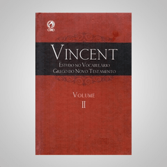 Vincent - Estudo no Vocabulário Grego do Novo Testamento