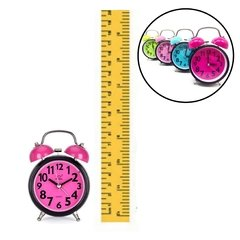 MINI RELOJ RETRO COLORES