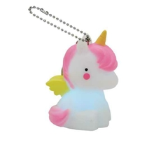 LLAVERO LUMINOSO UNICORNIO